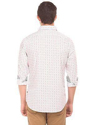 Nautica Slim Fit Printed Shirt