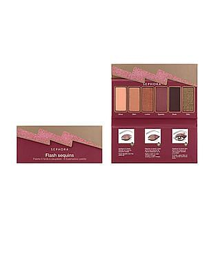 Sephora Collection Flash Sequins Palette - Brown And Purple