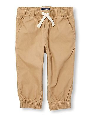 The Children's Place Baby Solid Woven Joggers