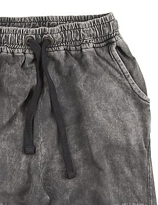 Cherokee Boys Washed Panelled Joggers