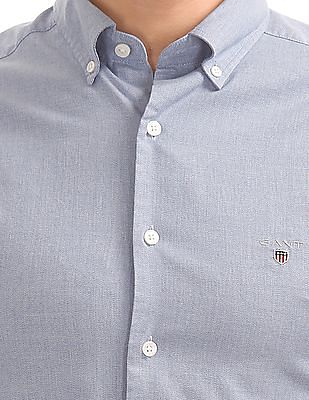 Gant Tech Prep Oxford Solid Regular Button Down Shirt