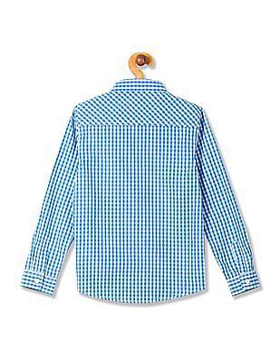 Cherokee Boys Bow Tie Check Shirt
