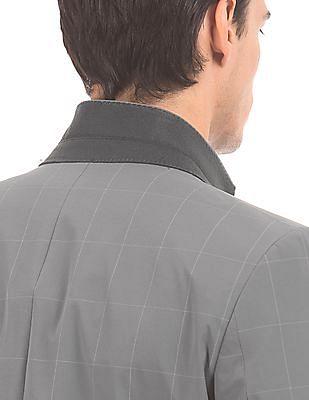Arrow Slim Fit Check Suit