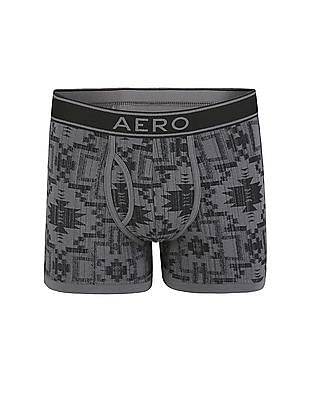 Aeropostale Printed Knit Boxer Briefs