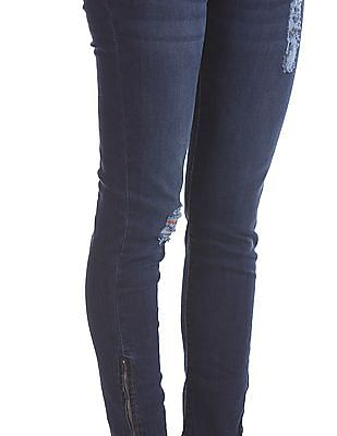 Aeropostale Jegging Fit Ankle Length Jeans