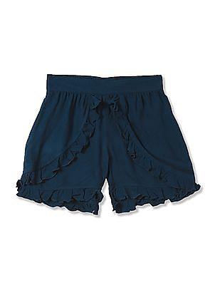 Cherokee Girls Solid Shorts