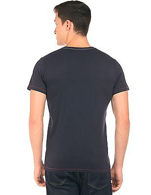 Gant Printed Crew Neck T-Shirt