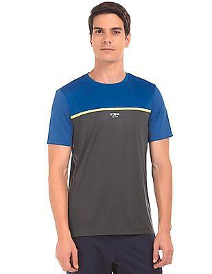 USPA Active Colour Blocked Active T-Shirt