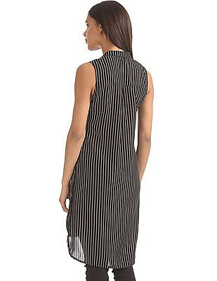 SUGR Striped Longline Top