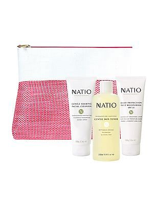NATIO 3 Step Skincare Gift Set