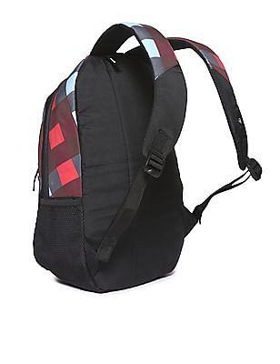 Flying Machine Padded Strap Check Backpack