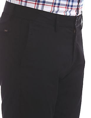 U.S. Polo Assn. Austin Trim Fit Solid Trousers