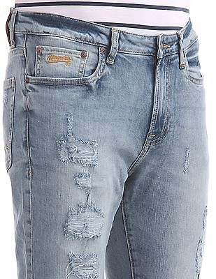 Aeropostale Super Skinny Distressed Jeans