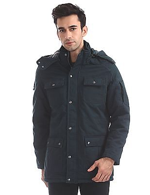 U.S. Polo Assn. Denim Co. Regular Fit Hooded Jacket
