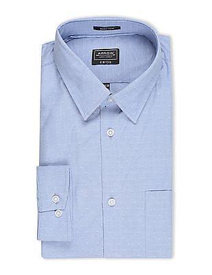 Arrow Newyork Slim Fit Spread Collar Shirt