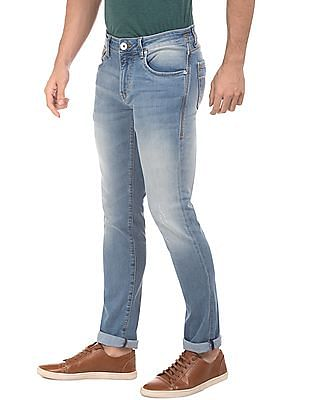 Flying Machine Slim Tapered Stone Wash Jeans