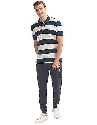 Flying Machine Regular Fit Panelled Joggers