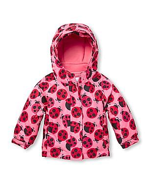 The Children's Place Baby Girl Printed Three-In-One Jacket