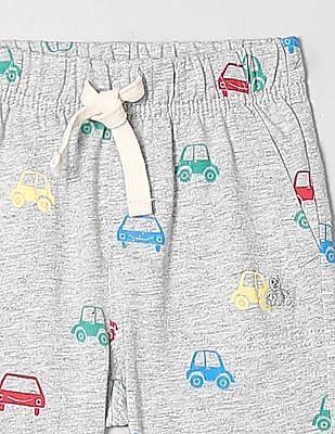 GAP Baby Boy Print Pull-On Shorts