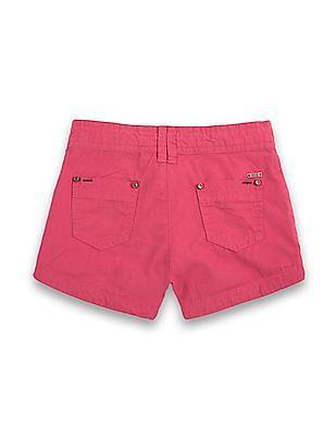 Elle Kids Girls Regular Fit Cotton Shorts