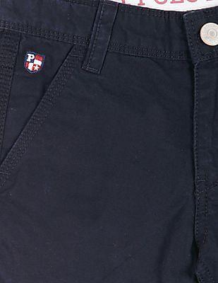 U.S. Polo Assn. Kids Boys Regular Fit Cotton 3/4Ths