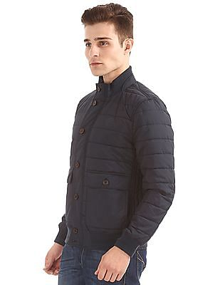 U.S. Polo Assn. Stand Neck Quilted Jacket