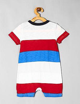 GAP Multi Colour Baby Stripe One-Piece