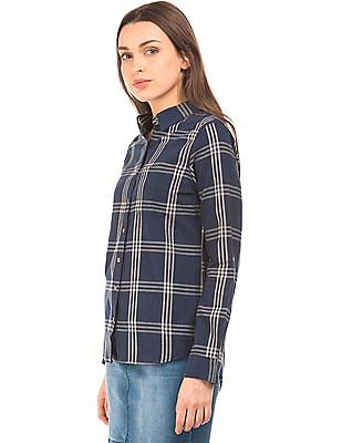 Cherokee Check Cotton Shirt
