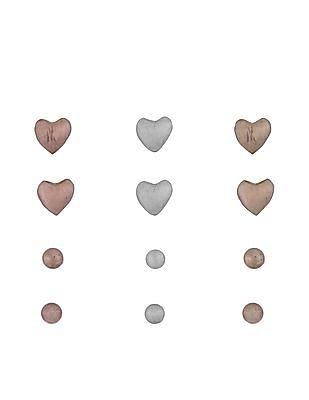 Aeropostale Stud Earrings - Set Of 6