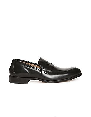 Johnston & Murphy Penny Strap Leather Loafers