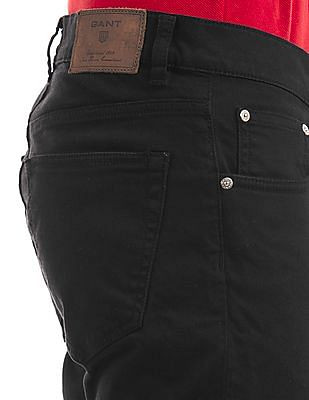 Gant Narrow Tapered Fit Overdyed Jeans