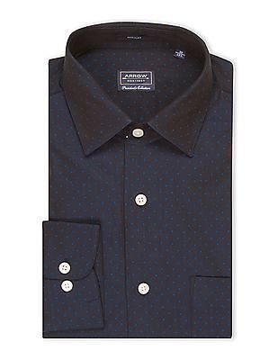 Arrow Patterned Regular Fit Shirt