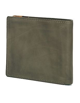 U.S. Polo Assn. Panelled Leather Bi-Fold Wallet