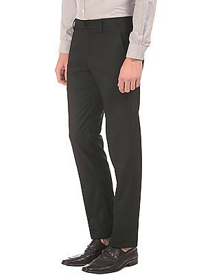 Excalibur Slim Fit Flat Front Trousers