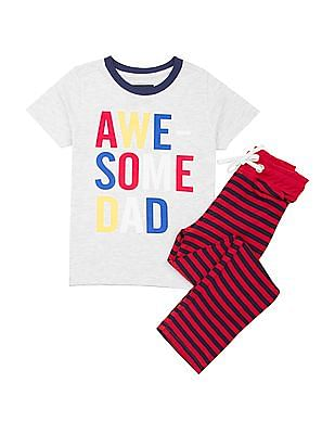 340957bc6 Cherokee Boys Printed T-Shirt And Pants Set. OFFER. SHOP NNNOW