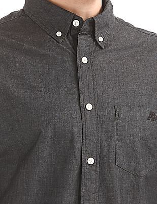 Aeropostale Button Down Regular Fit Shirt