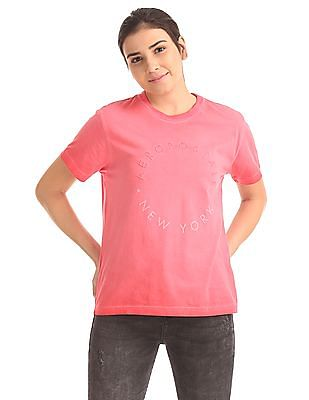 Aeropostale Crew Neck Boxy T-Shirt