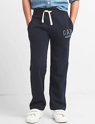 GAP Boys Logo Fleece Sweats