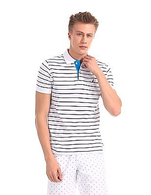 Nautica Short Sleeve Chest Block Polo Shirt