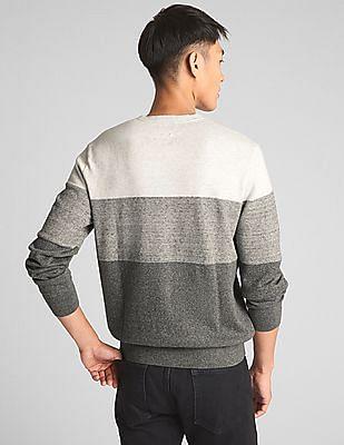 GAP Stripe Crewneck Pullover Sweater