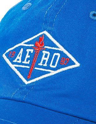 Aeropostale Embroidered Logo Panelled Cap