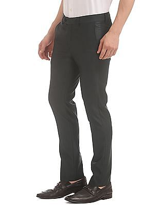 Excalibur Patterned Super Slim Fit Trousers