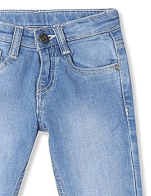 Cherokee Girls Slim Fit Stone Wash Jeans