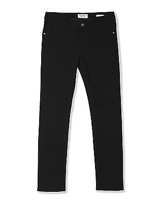 Cherokee Black Skinny Fit Rinsed Jeans