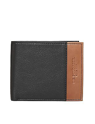 U.S. Polo Assn. Colour Block Leather Wallet