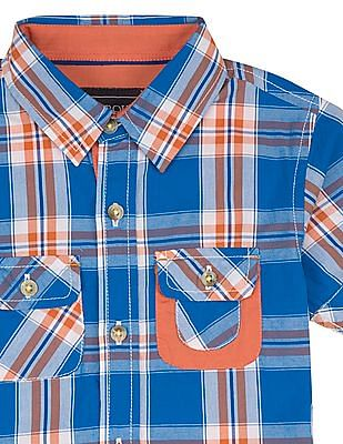 Cherokee Boys Check Regular Fit Shirt