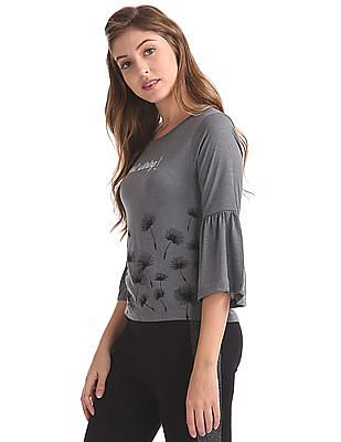 SUGR Bell Sleeve Active Top