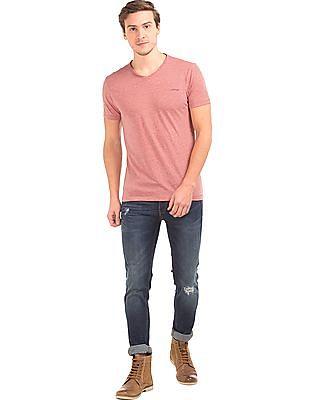 Ed Hardy V-Neck Heathered T-Shirt