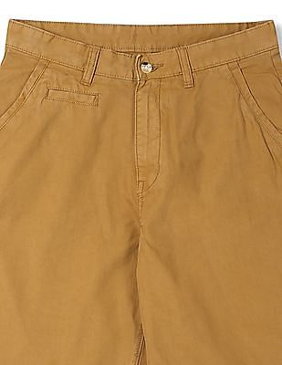 Izod Slim Fit Flat Front Shorts