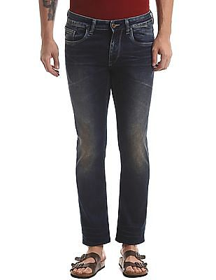 True Blue Cloud Wash Slim Fit Jeans